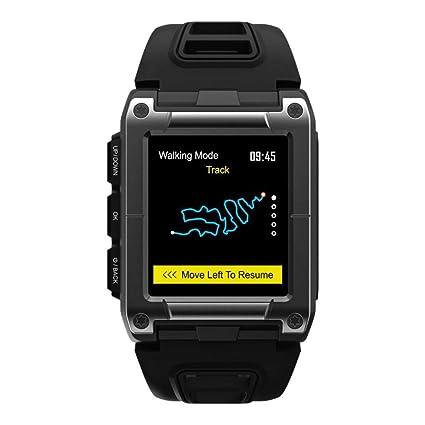 Topker Hombres GPS Deporte de la natación Inteligente Reloj IP68 Impermeable de la Frecuencia de sueño