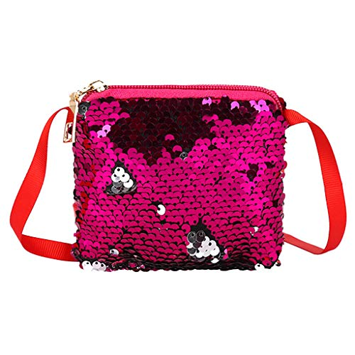 squarex - Bolso al Hombro para Mujer Rosa Rosa AS Show ...