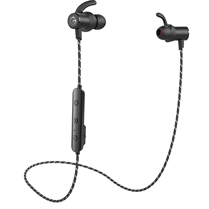 Auricolari wireless Bluetooth 4.1 cuffie stereo magnetico 9119ab9d0337