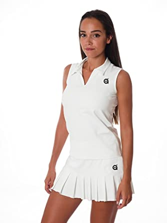 a40grados Sport & Style Flip Falda de Tenis, Mujer, Blanco, 38 ...