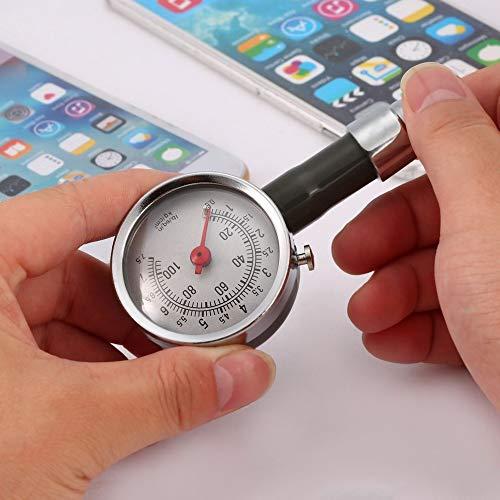 leenBonnie Misuratore della Pressione fetale per Auto misuratore di Pressione dei Pneumatici per Pneumatici di Alta precisione