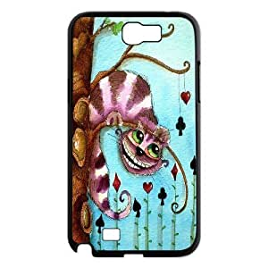 AinsleyRomo Phone Case Cheshire cat and alice pattern case For Samsung Galaxy Note 2 Case FSQF484169