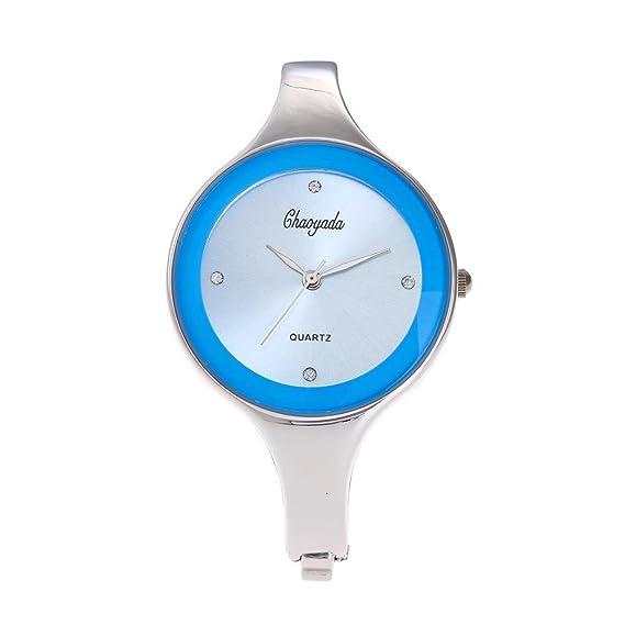 YAZILIND de cuarzo reloj de pulsera de gran marca de aleación de reloj de moda para