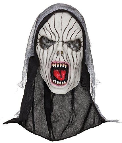 Bristol novità BM498Shrieking Banshee maschera con cappuccio (taglia unica)