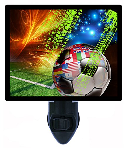 Night Light - Soccer Matrix - Sports by Night Light Designs