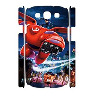 Big Hero 6 FG0085937 3D Art Print Design Phone Back Case Customized Hard Shell Protection Samsung Galaxy S3 I9300