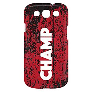 Loud Universe Samsung Galaxy S3 Champ Print 3D Wrap Around Case - Multi Color