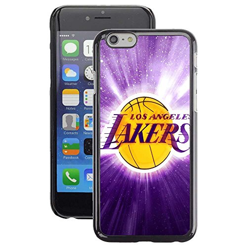 iPhone 5 Case, iPhone 5S Cover, iPhone SE Cases, LA Lakers Basketball Team Logo 37 Drop Protection Never Fade Anti Slip Scratchproof Black Hard Plastic Case (Iphone Grip 5 Basketball Case)