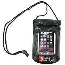 """Etui Housse étanche DURAGADGET noir de protection pour l'iPhone 6 (écran 4.5"""") et l'iPhone 6 Plus (écran 5.5"""") d'Apple"""
