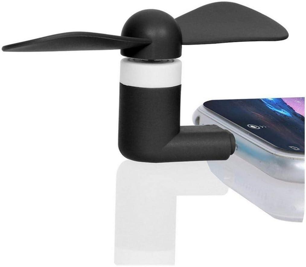Mini Soft Portable Type-C Mobile Phone Cooling Fan Mute Fan for Type C Phone Cooler Gadgets Small Fan 10pcs//lot-Orange Premium Quality Rechargeable USB Fan