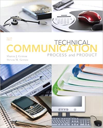 Technical Communication Process And Product 7th Edition Pdf