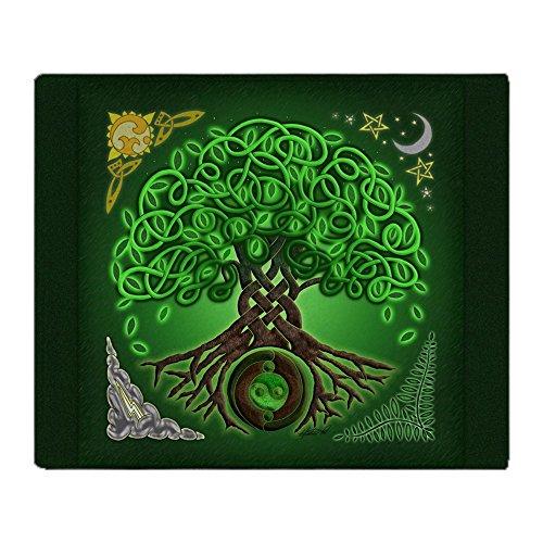 (CafePress Circle Celtic Tree of Life Soft Fleece Throw Blanket, 50