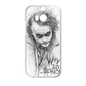 Happy The Dark Knight Joker Cell Phone Case for HTC One M8