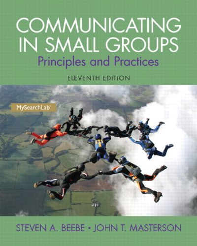 020598083X - Communicating in Small Groups: Principles and Practices (11th Edition)