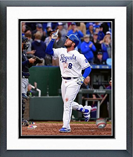 Mike Moustakas Kansas City Royals 2016 Action Photo (Size: 18