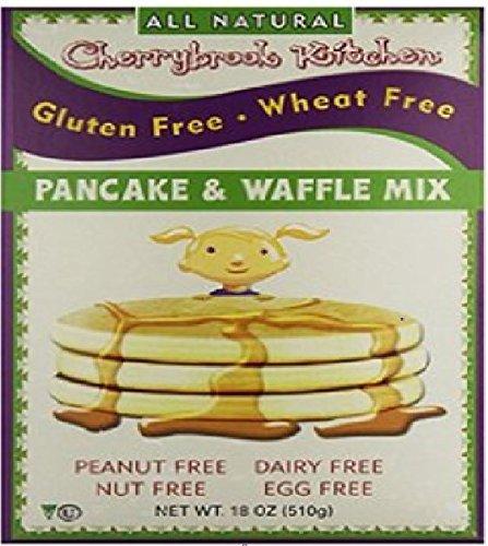 Cherrybrook Kitchen Chocolate Chip Pancake Mix, 18 Ounce - 6 per case.