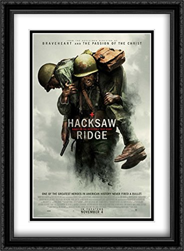 Hacksaw Ridge 28x38 Double Matted Large Large Black for sale  Delivered anywhere in USA