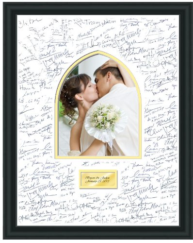 Amazon.com - Personalized Wedding Picture Frame 16x20 Persian Arch ...