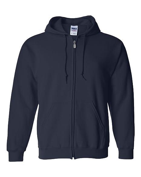 4cff3bdc Amazon.com: Gildan Mens Heavy Blend Full-Zip Hooded Sweatshirt: Clothing