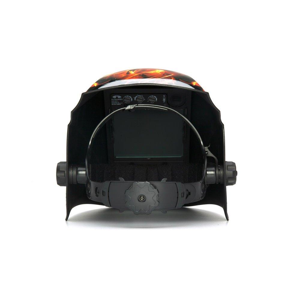 Pyramex WHAM3030FL Auto Darkening Welding Helmet - Manual 98 x 87mm by Pyramex-Inc (Image #4)
