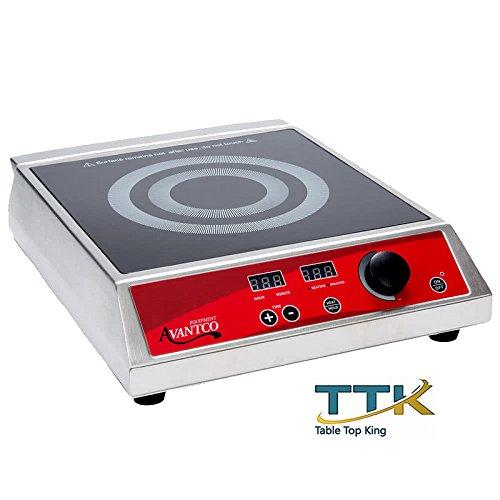 Tabletop King ICBTM-20 Countertop Induction Range/Cooker - 120V, 1800W