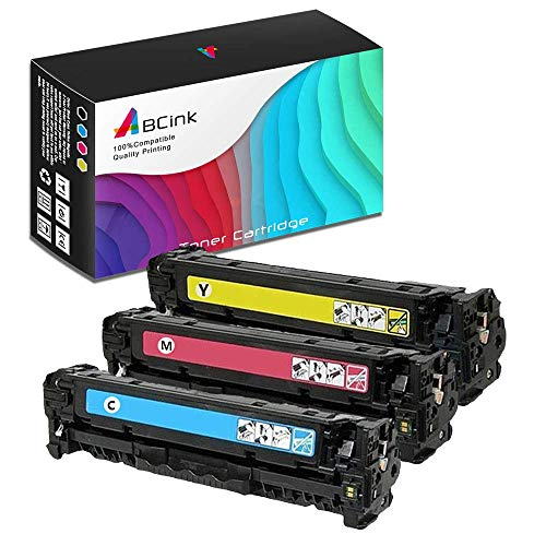 ABCink C4192A C4193A C4194A 640A Toner Compatible for HP Laserjet 4500,4500DN,4500HDN,4500N,4550 Color Laser Printer Toner Cartridge,3 Pack(1 Cyan,1 Yellow,1 Magenta) - Hp C4193a Compatible Toner