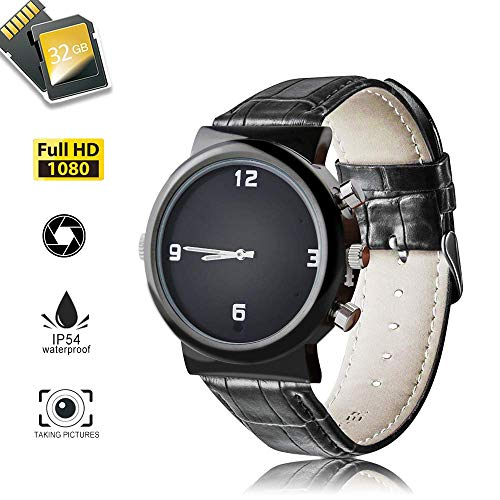 lt-in 32GB, 1080P Hidoli H10 Wrist Hidden Camera Video Recorder Waterproof for Home Outdoor ()