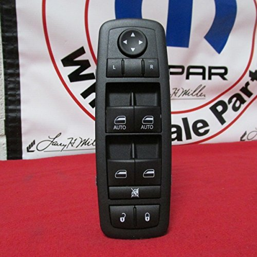 NEW OEM Dodge RAM 1500, 2500, 3500 Quad & Crew cab master window switch - Ram New