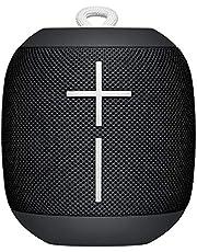 Ultimate Ears WONDERBOOM bärbar trådlös bluetooth-högtalare, överraskande stort ljud, vattentät, anslut två högtalare för stereo, 10 timmars batteritid - Svart