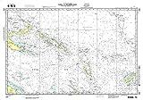 NGA Chart 604: Coral and Solomon Seas [And Adjacent Sea (WATERPROOF) 30 x 43