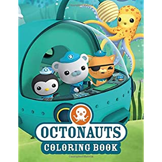 Octonauts Coloring Book: Fantastic Jumbo Coloring Book With 50 High Quality Images