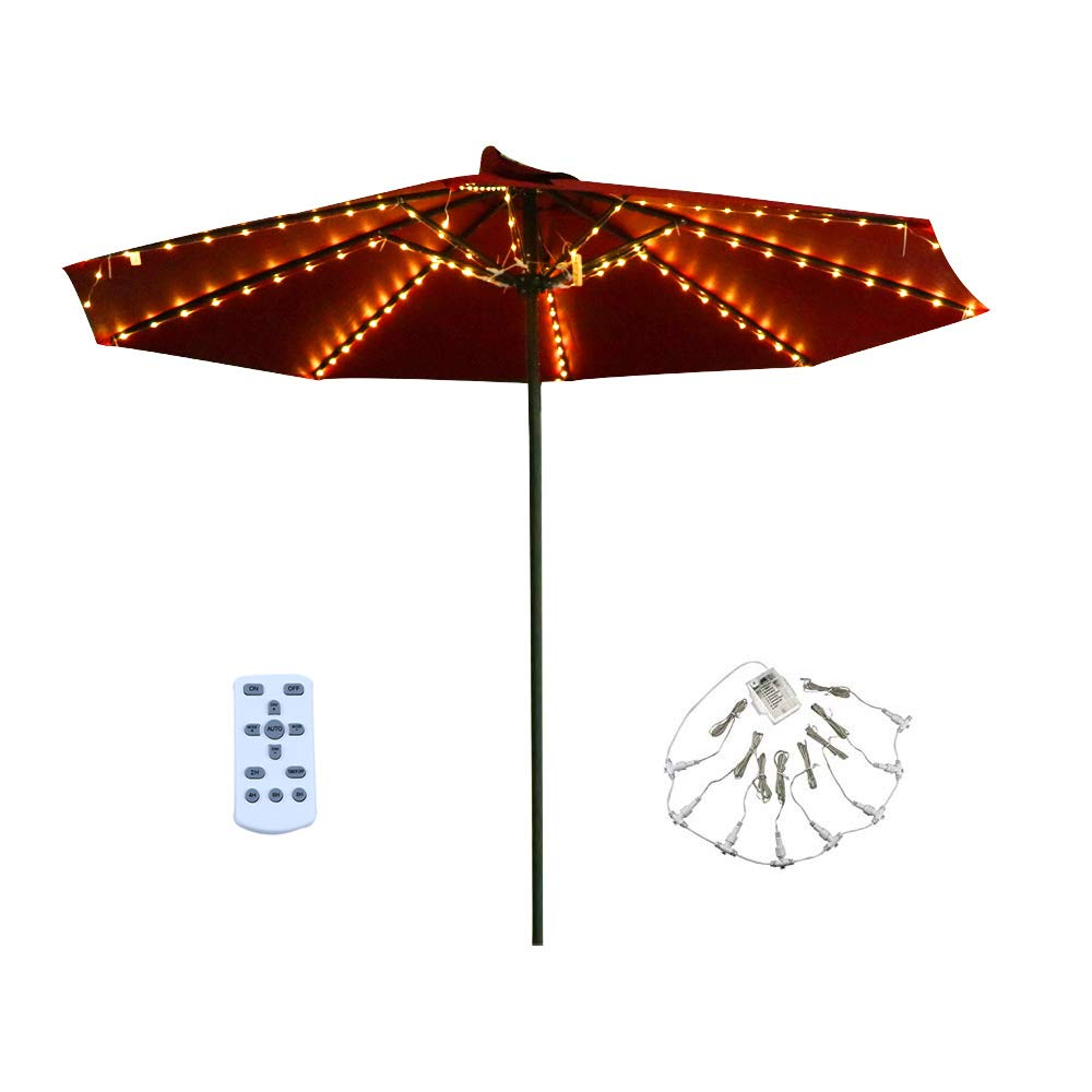 Patio LED Umbrella String Lights