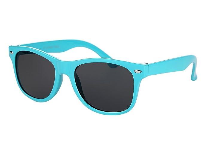 Alsino Farbige Retro Brille Kinder Sonnenbrille Viper, wählen:K-87 ...