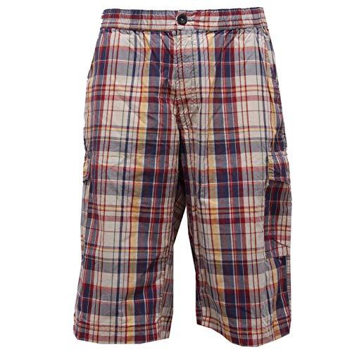 Trouser 68952 Corto Pantalone Men Rosso blu Uomo Bermuda Woolrich Short qRwgXUg