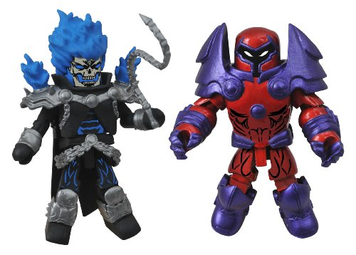 Diamond Select Toys Marvel Minimates Series 50 Fan's Choice Series Ghost Rider and Onslaught Action Figure