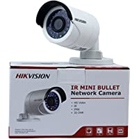 Hikvision DS-2CD2042WD-I 4MP IR Bullet Network Camera POE Day Night Vision IP66 Waterproof HD Home Security Surveillance CCTV camera 4mm Lens English Retail Version