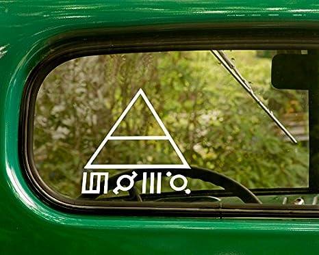 "Thirty 30 Seconds To Mars Band Vinyl Decal Car Sticker Window bumper Laptop 6/"""