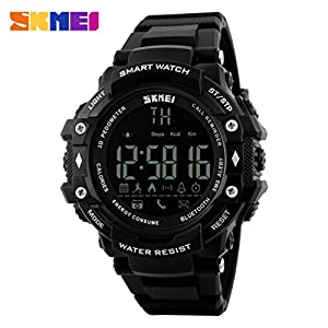 Tiean SKMEI 1226 Sport Waterproof Bluetooth Smart Watch Phone Mate For Smartphone