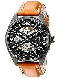 Hamilton Men's H72585535 Khaki Field Analog Display Automatic Self Wind Brown Watch