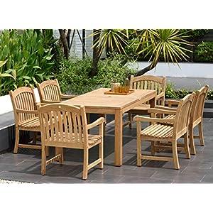 51NsW%2BE7TVL._SS300_ Teak Dining Tables & Teak Dining Sets