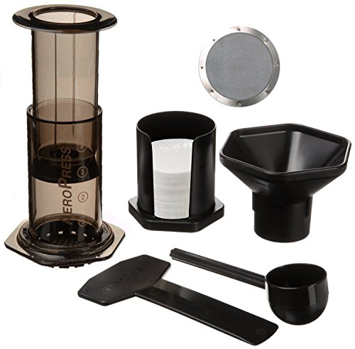 Aeropress Coffee Maker Dishwasher Safe : Title : Aerobie Aeropress Coffee Maker with Ultra Fine Stainless Steel Reusable Coffee Filter ...