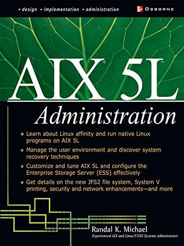 AIX 5L Administration (McGraw-Hill Osborne Networking) Epub