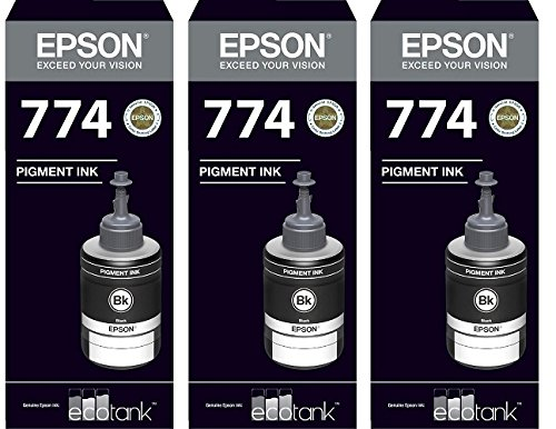 Epson Ink T7741 Black Ink Pack of 3 For M100/200