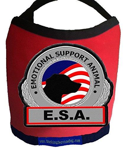 Premium ESA Dog Vest - For Smaller Emotional Support Anim...