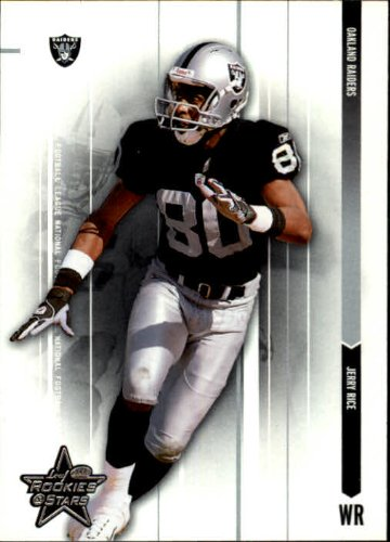 2003 Leaf Rookies and Stars Football Card #65 Jerry Rice Near Mint/Mint (Rice Near Mint)