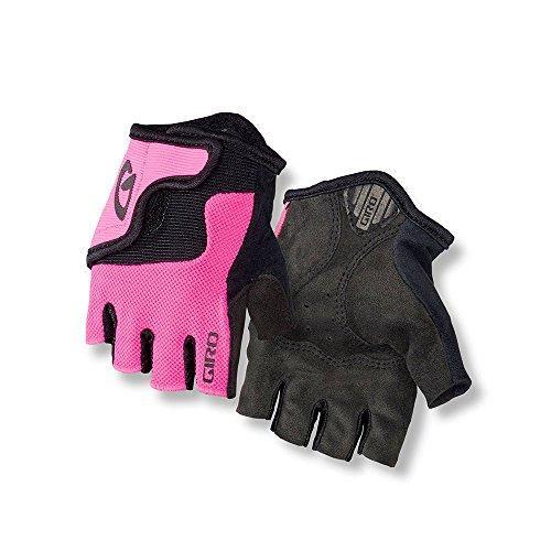 Giro Bravo Jr Cycling Gloves Bright Pink Youth Small