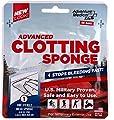 Adventure Medical Kits Advanced Clotting Sponge with Zeolite, 25g, First Aid Hemostatic Sponge, Blood Clotting Sponge, Hemostatic Dressing, Stop Bleeding Fast, Clotting Agent