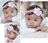 Songqee Baby Haarreif, mit Blume