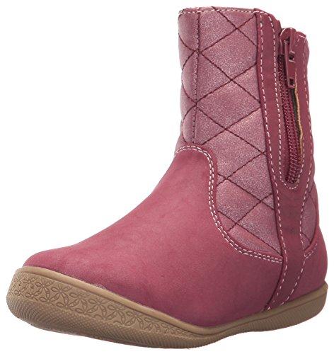 Rachel Shoes Girls' Malaga Fashion Boot Pink Suede 10 M US Toddler