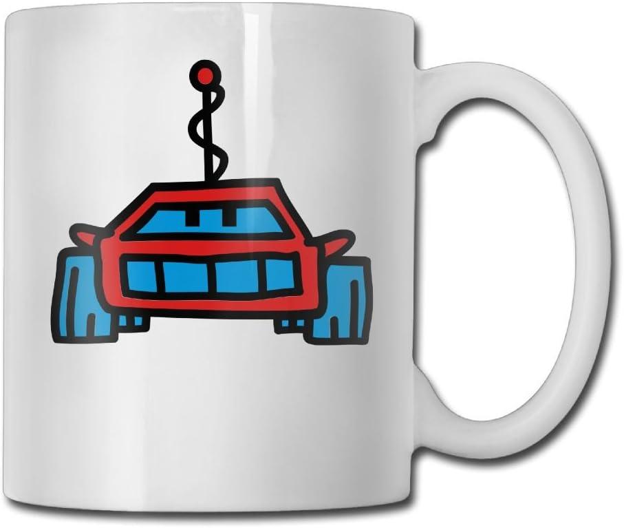 Robocar 3c Customize Ceramic Print Travel Mug Stainless Steel 14 OZ Coffee Mug